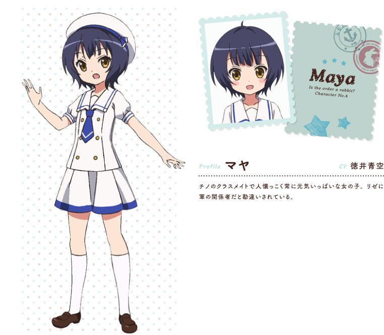 Gochuumon-wa-Usagi-Desu-ka-Anime-Character-Designs-Maya-Jouga