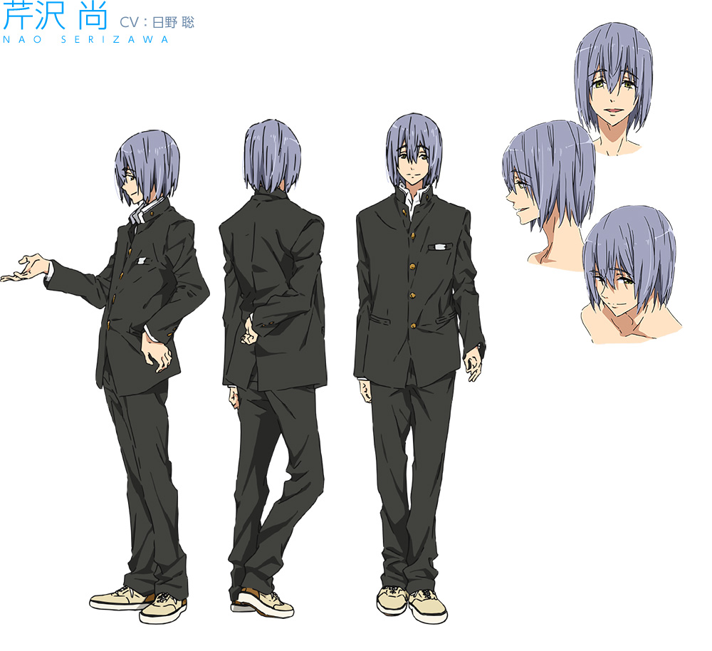 High☆Speed!--Free!-Starting-Days-Character-Designs-Nao-Serizawa