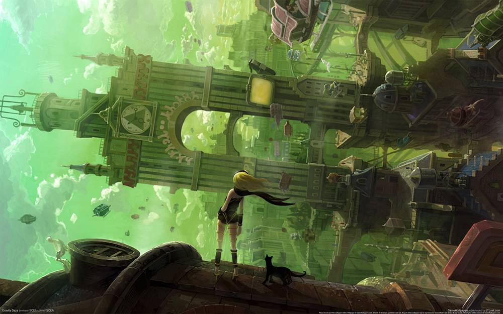Gravity-Rush-Visual