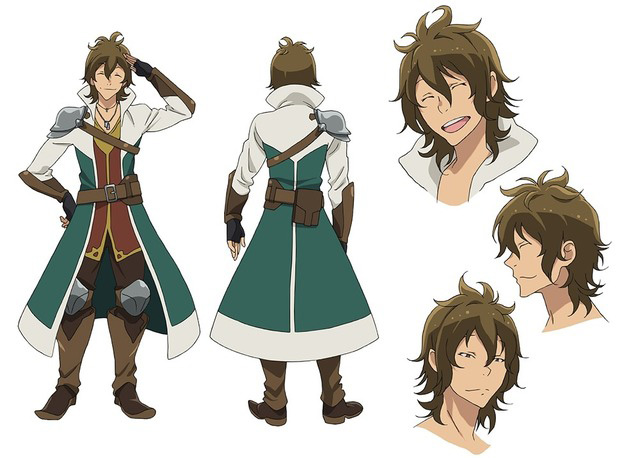 Fantasy Character Design Sheet : Hai to gensou no grimgar anime cast character designs