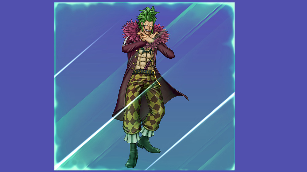 One-Piece-Burning-Blood-Bartolomeo-Visual