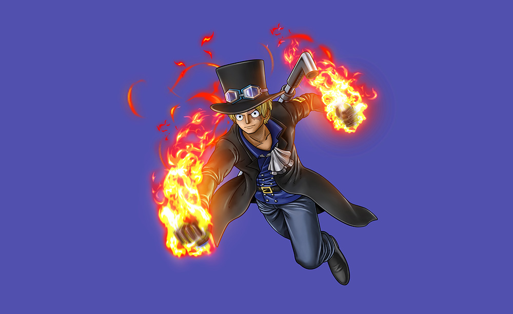 One-Piece-Burning-Blood-Sabo-Visual