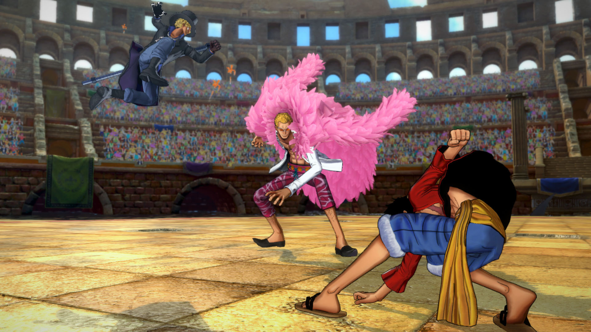One Piece Burning Blood Screenshots 01