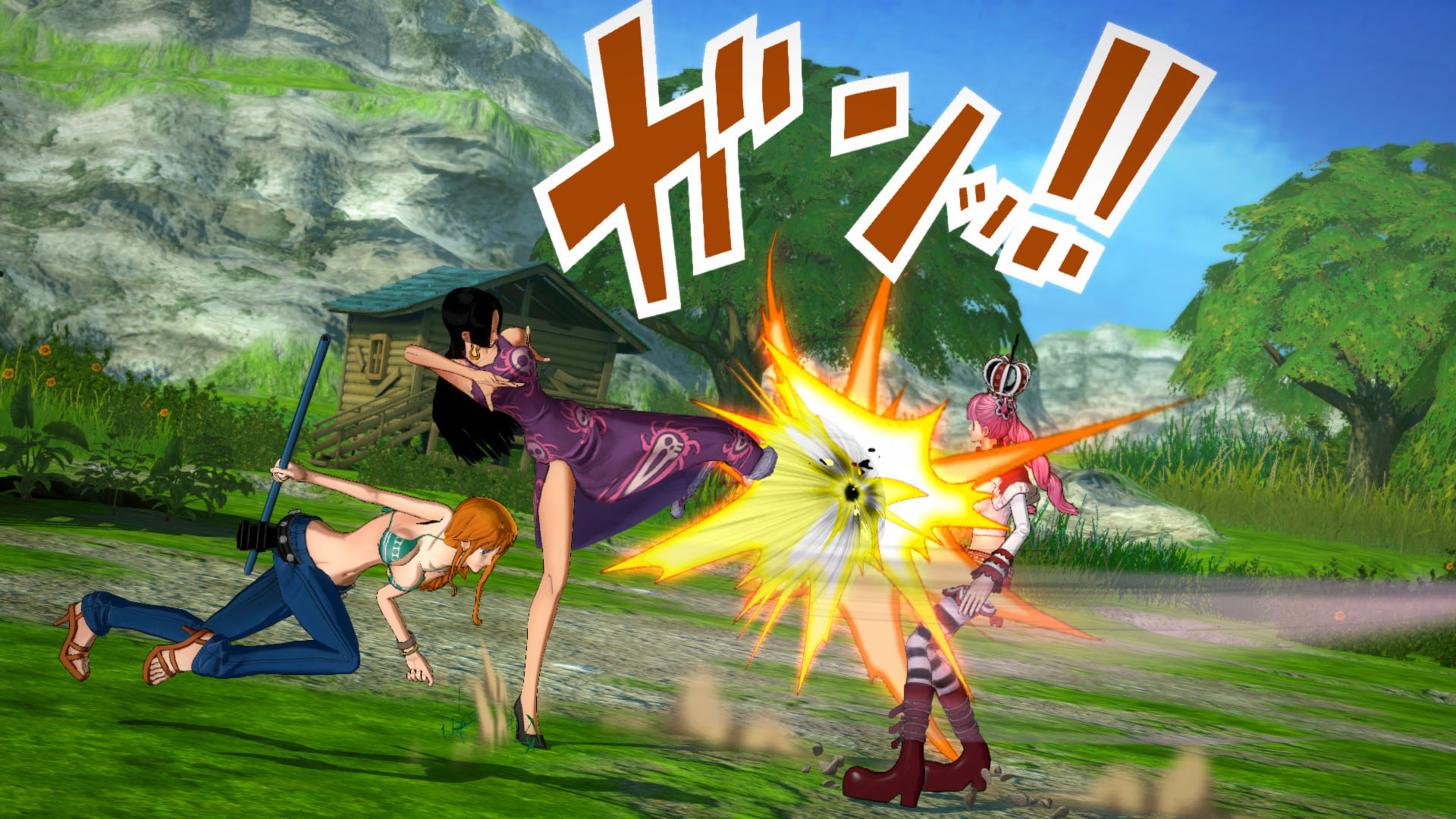 One Piece Burning Blood Screenshots 33