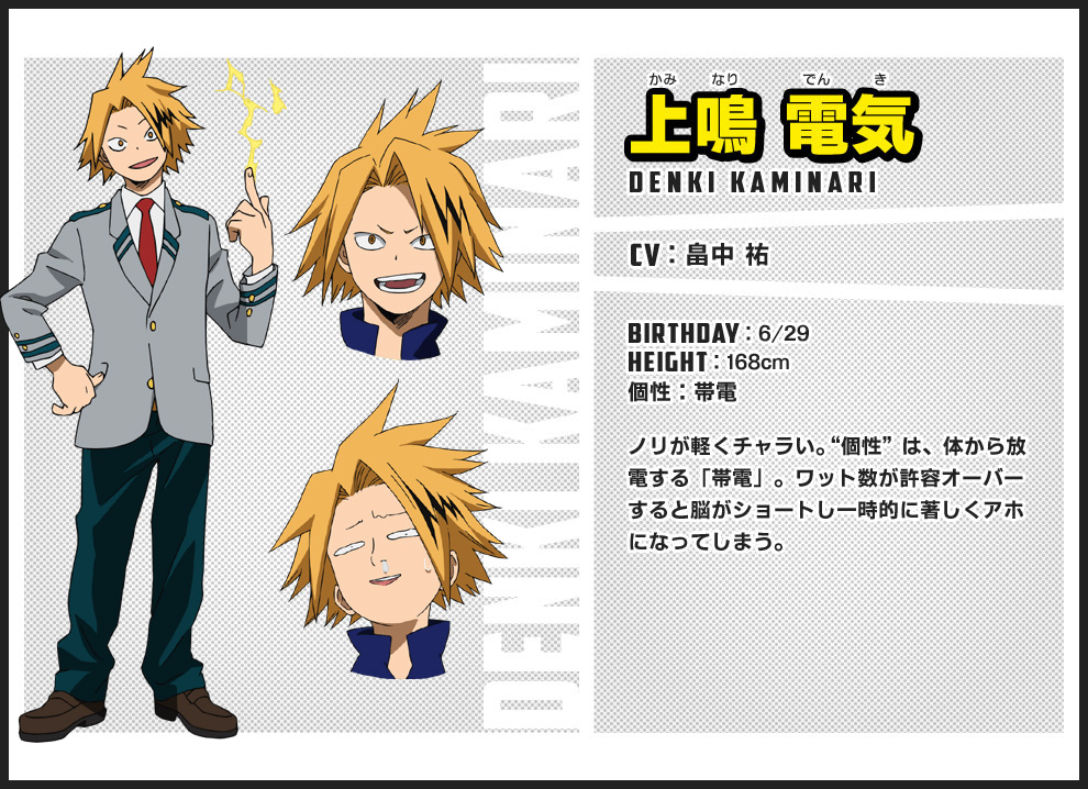 Anime Character Birthday 7 July : New boku no hero academia anime visual cast members