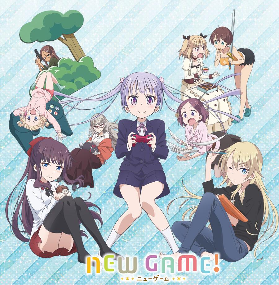 New Game! TV Anime Visual, Cast \u0026 Promotional Video Revealed  Otaku Tale