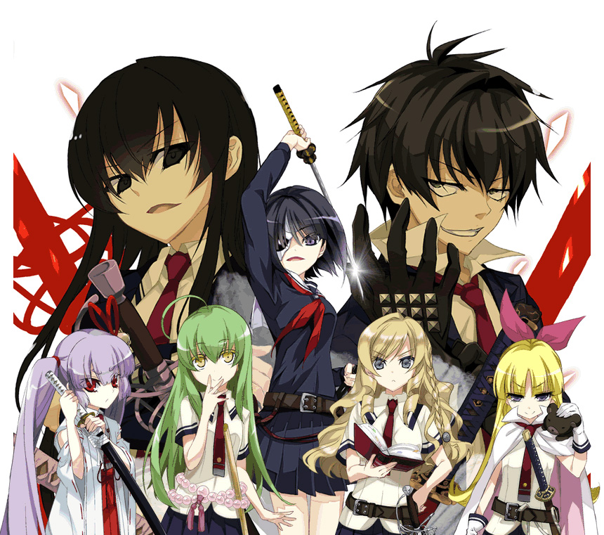 Busou-Shoujo-Machiavellianism-Manga-Visual