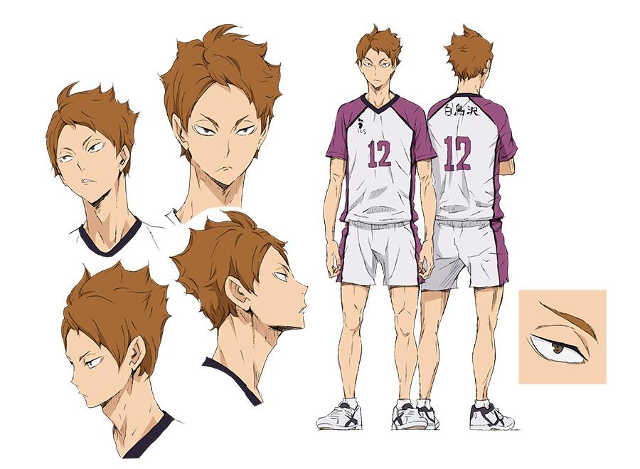 Academy Of Character Design : Shiratorizawa academy visual revealed for haikyuu season