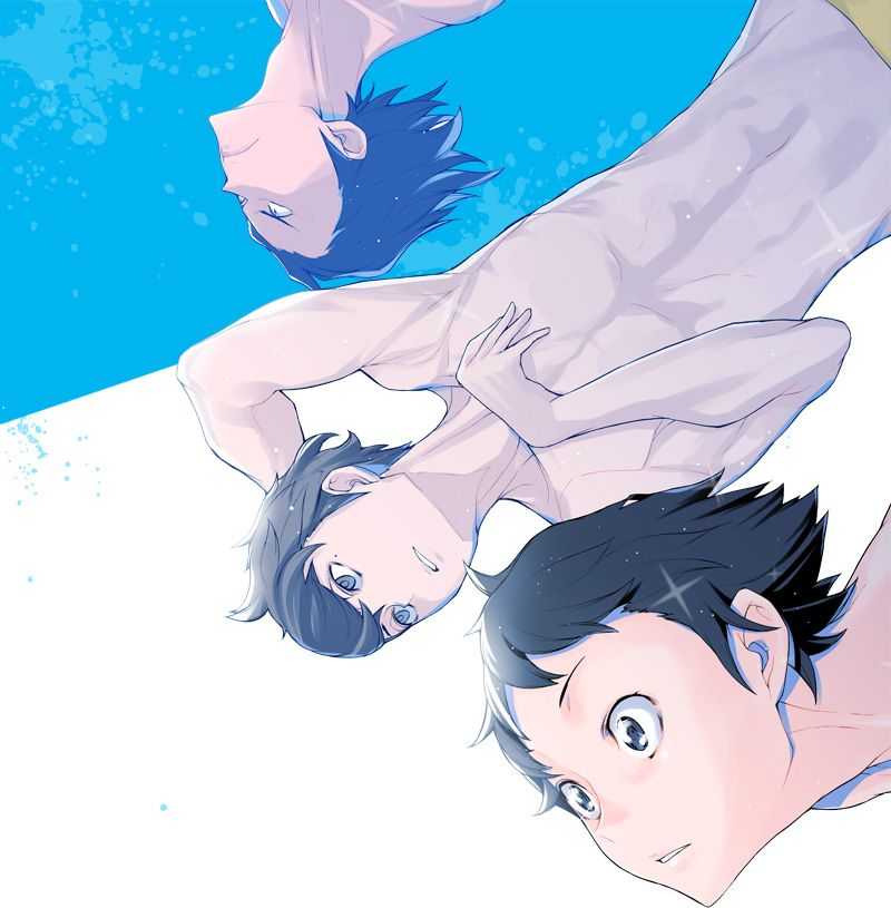 Eto Mori's Bishonen Diving Novel Series DIVE!! Gets Anime