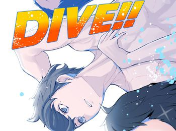 Eto-Moris-Bishonen-Diving-Novel-Series-DIVE!!-Gets-Anime-Adaptation-for-July