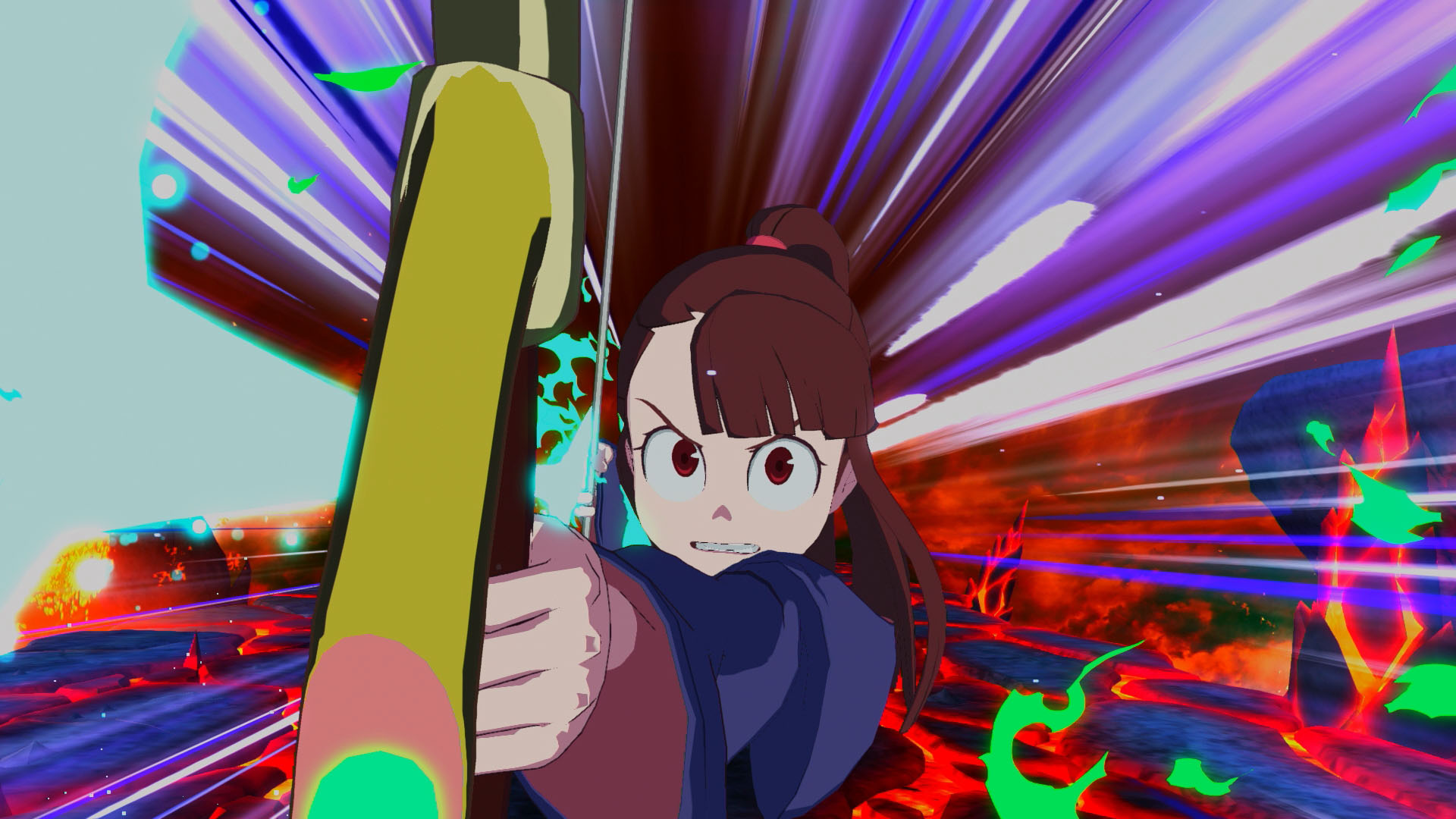 Little Witch Academia The Witch of Time and the Seven Wonders Updated Screenshots 07