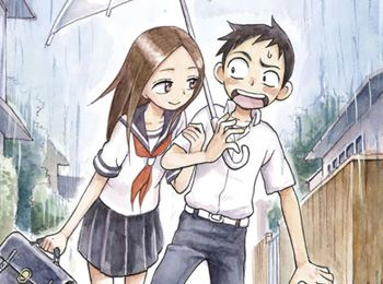 Karakai Jouzu no Takagi-san TV Anime Adaptation Announced for 2018