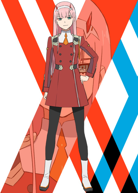 DARLING-in-the-FRANKXX-Character-Designs-Zero Two