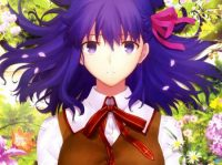 New Sakura Visual Revealed for Fate/stay night: Heaven's Feel – I .Presage Flower