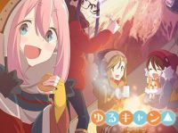 New Yurucamp△ Anime Visual, Promotional Video & Theme Songs Revealed