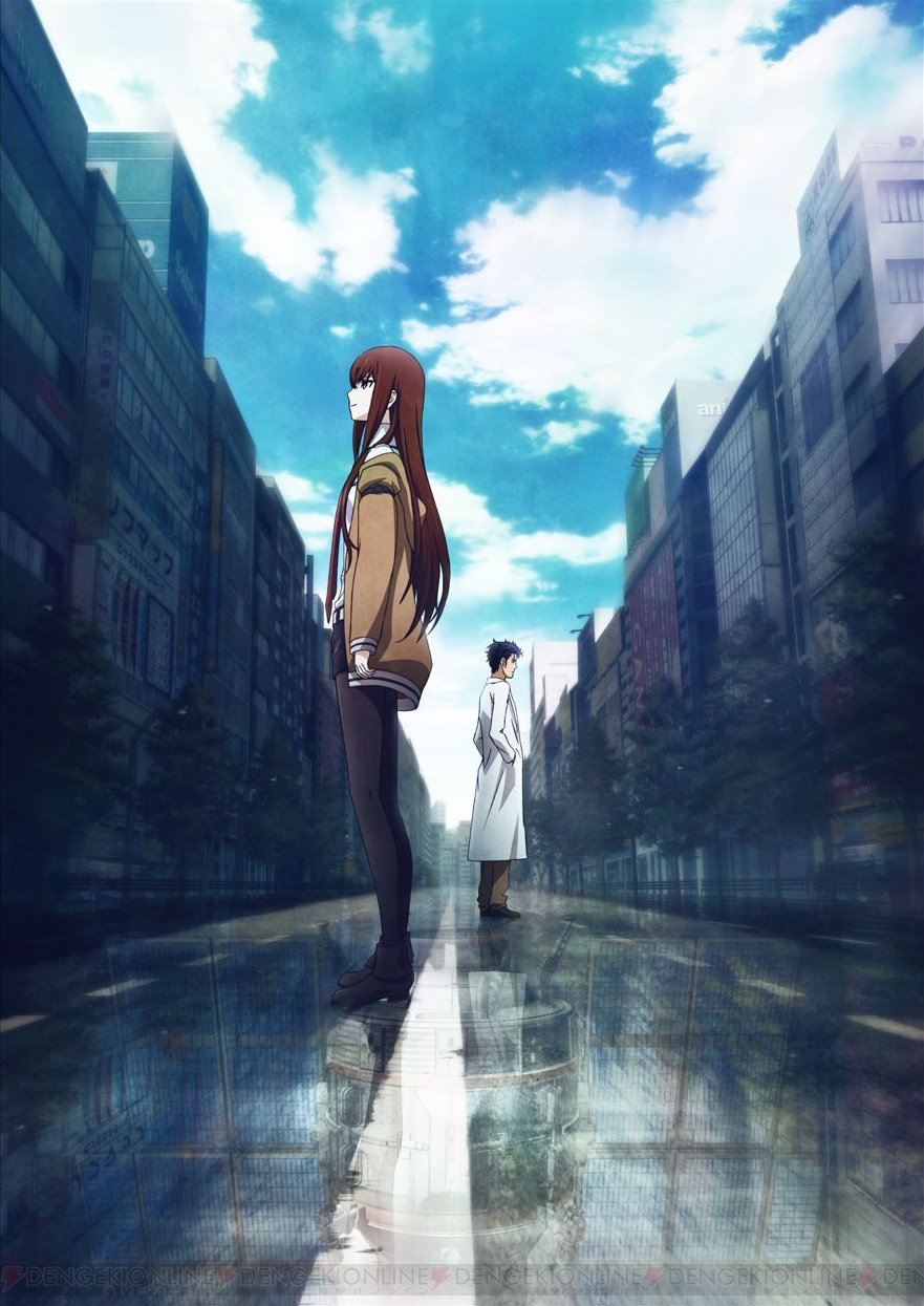 New Steins;Gate Movie and Blu-RayDVD Art pic 1