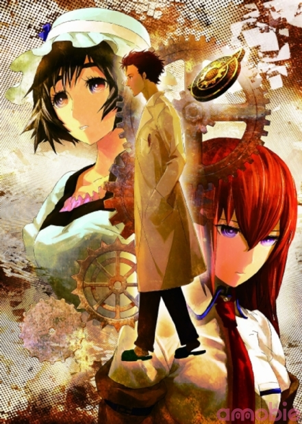 New Steins;Gate Movie and Blu-RayDVD Art pic 2
