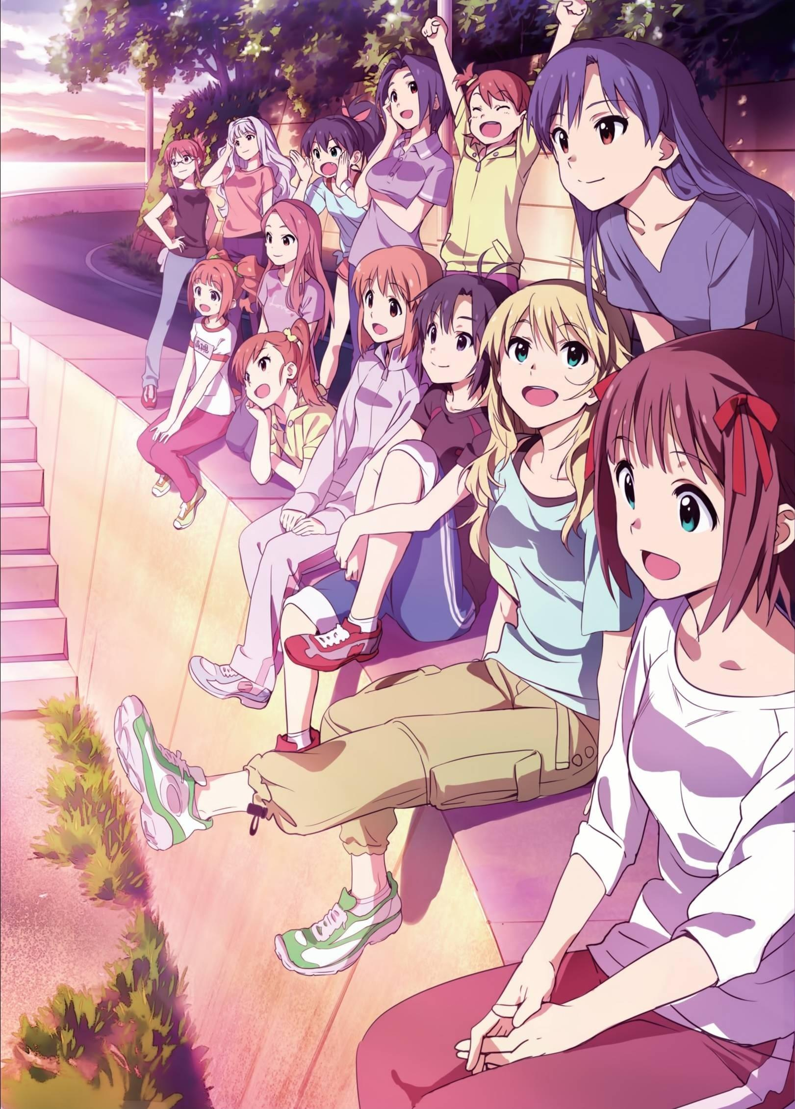 The Idolm@ster Film Coming Soon poster