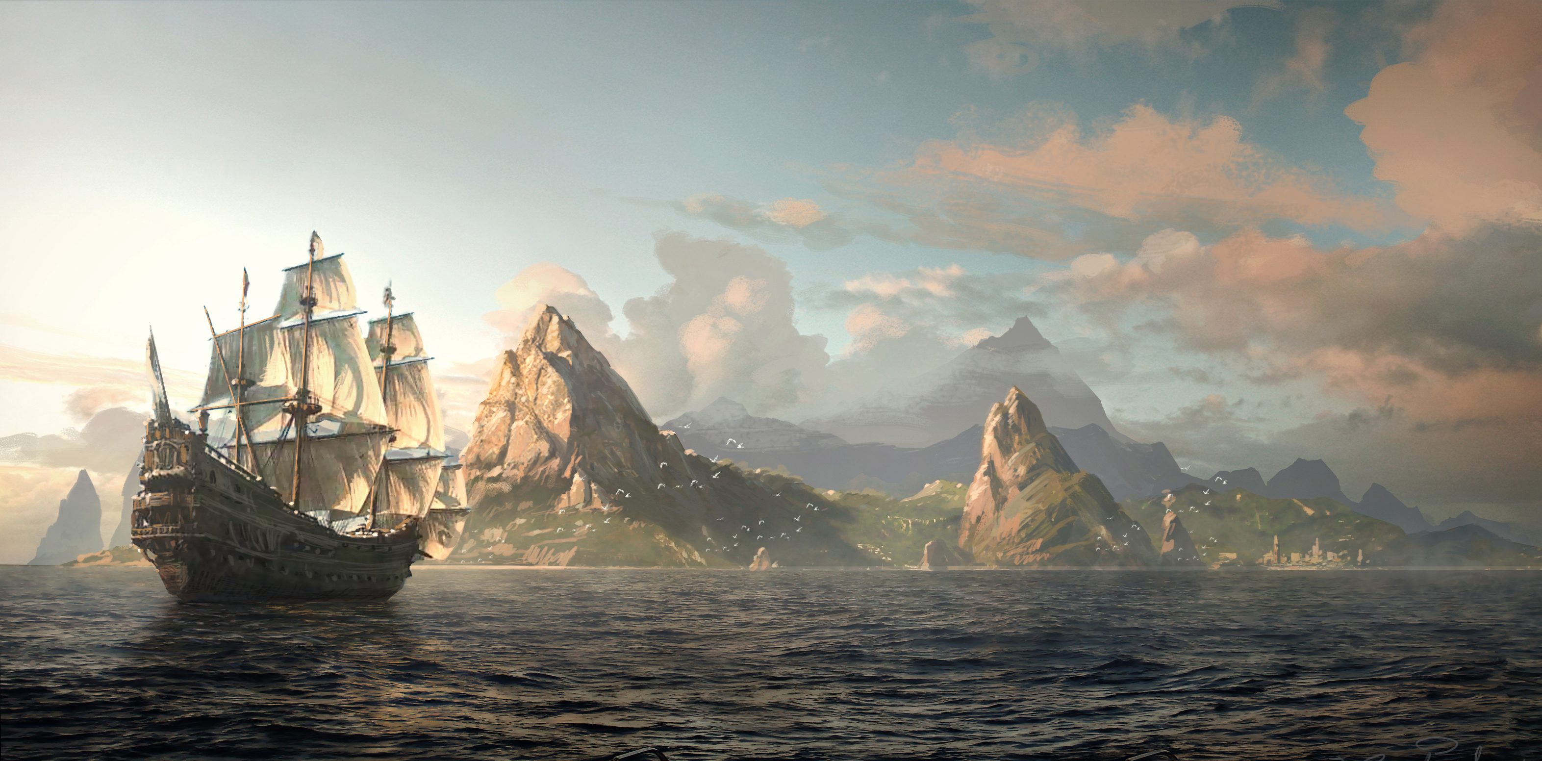 Assassins Creed IV Black Flag Official Images + Trailers pic 1