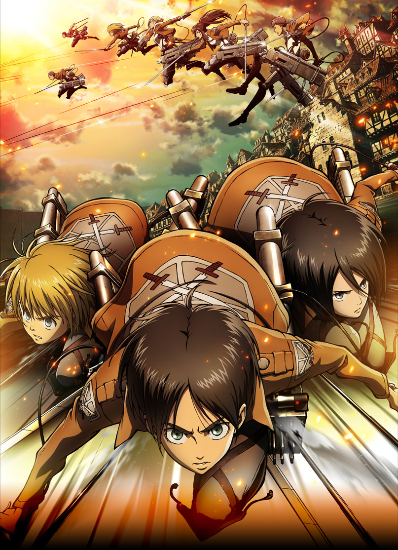 Attack On Titan Cast Revealed + New Image image