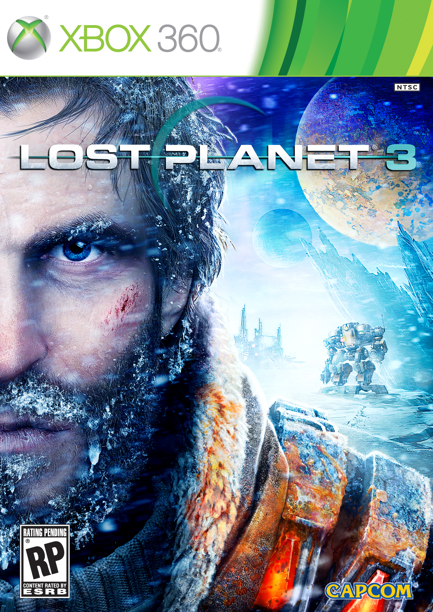 Lost Planet 3 Release Date, Box Art, Trailer and Screenshots 360 Cover