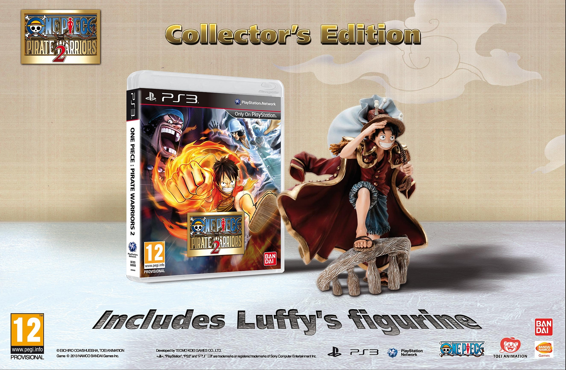 One Piece Pirate Warriors 2 Collectors Edition Europe pic