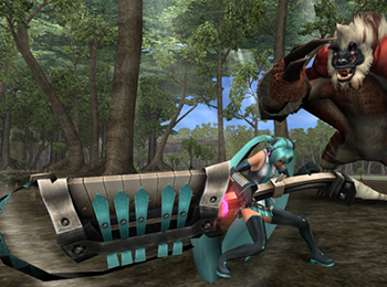 Monster Hunter Frontier x Hatsune Miku