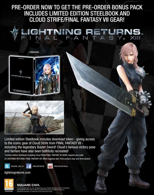 Lightning Returns Final Fantasy XIII Cloud pic 5