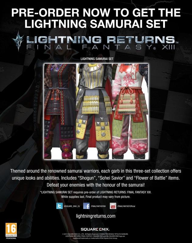 Lightning Returns Final Fantasy XIII Samurai pic