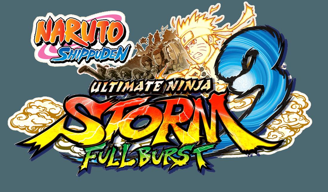 Naruto Shippuden Ultimate Ninja Storm 3 Full Burst logo