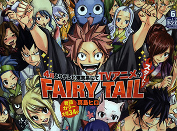 Fairy Tail Anime Will Return in April 2014!
