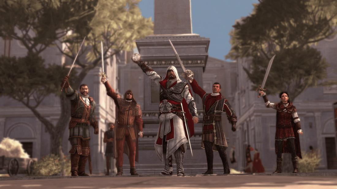 Assassins Creed Brotherhood Review Screen 1