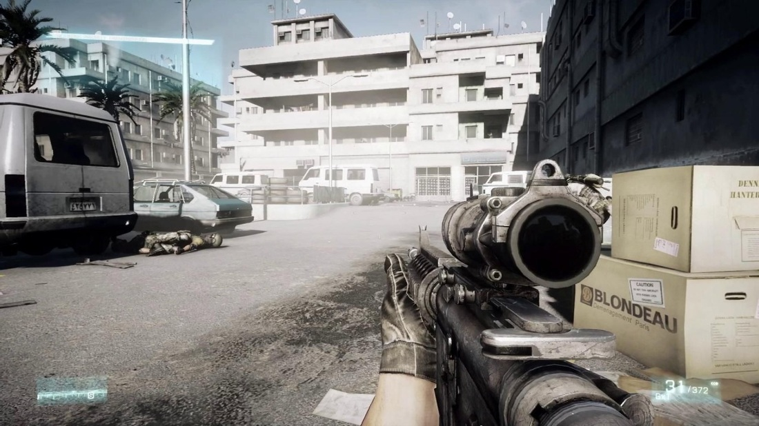Battlefield 3 Review screen 1