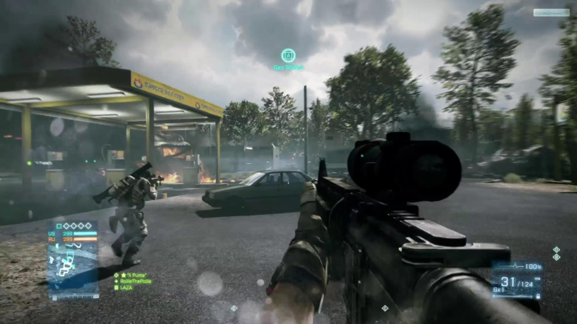 Battlefield 3 Review screen 9