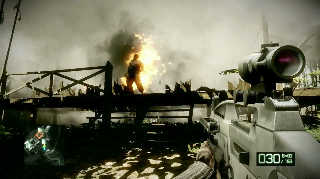 Battlefield Bad Company 2 Review screen 3