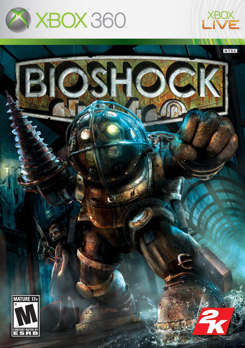 Bioshock Review - Xbox 360 Box Art