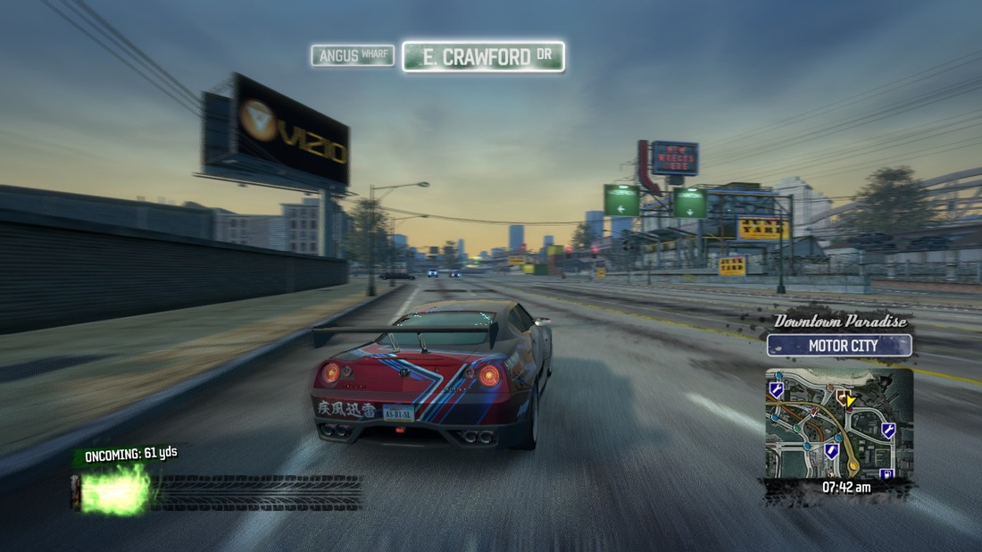 Burnout Paradise Review Screen 5