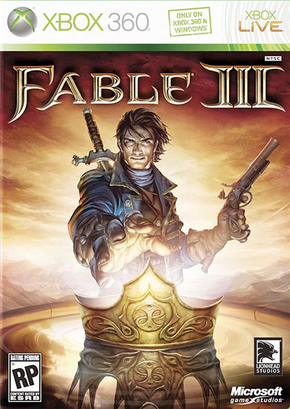 Fable III Review - Xbox 360 Box Art