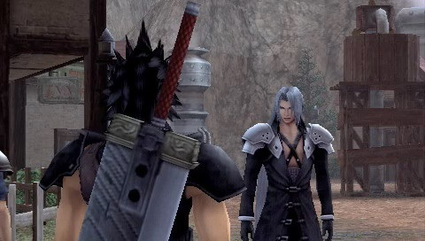Final Fantasy VII Crisis Core Review  Screen 2