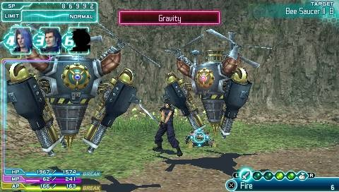 Final Fantasy VII Crisis Core Review  Screen 3