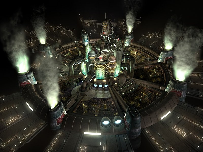 Final Fantasy VII Review Screen 1