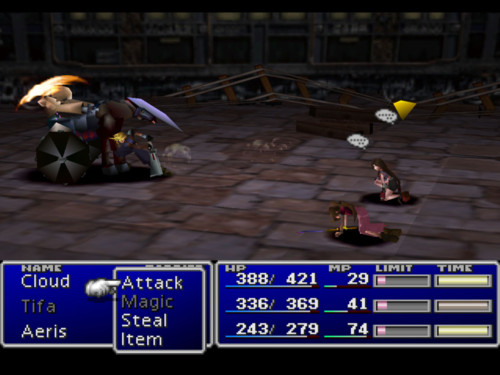 Final Fantasy VII Review Screen 5