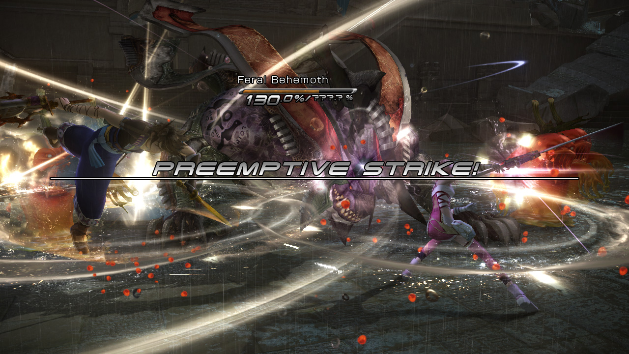 Final Fantasy XIII-2 Review Screen 1