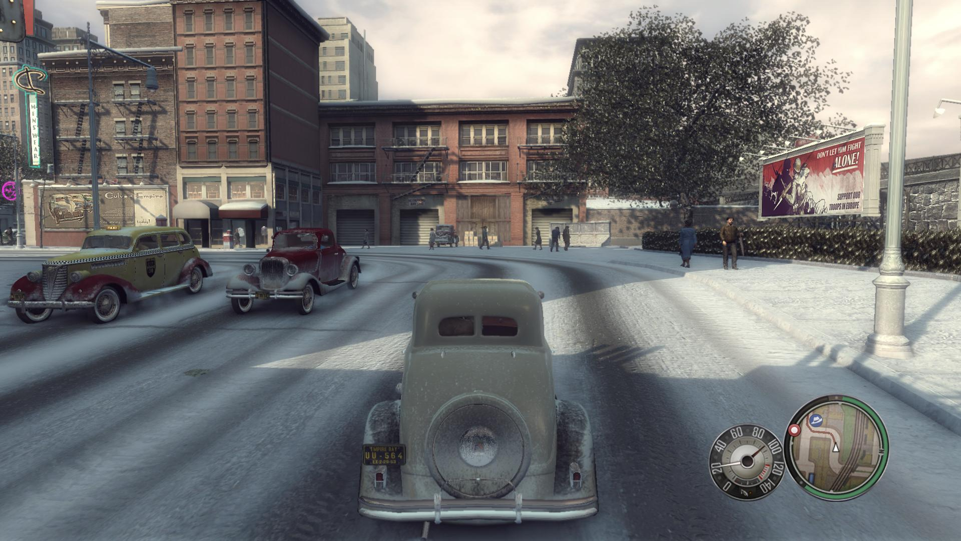 Mafia II Review Screen 2