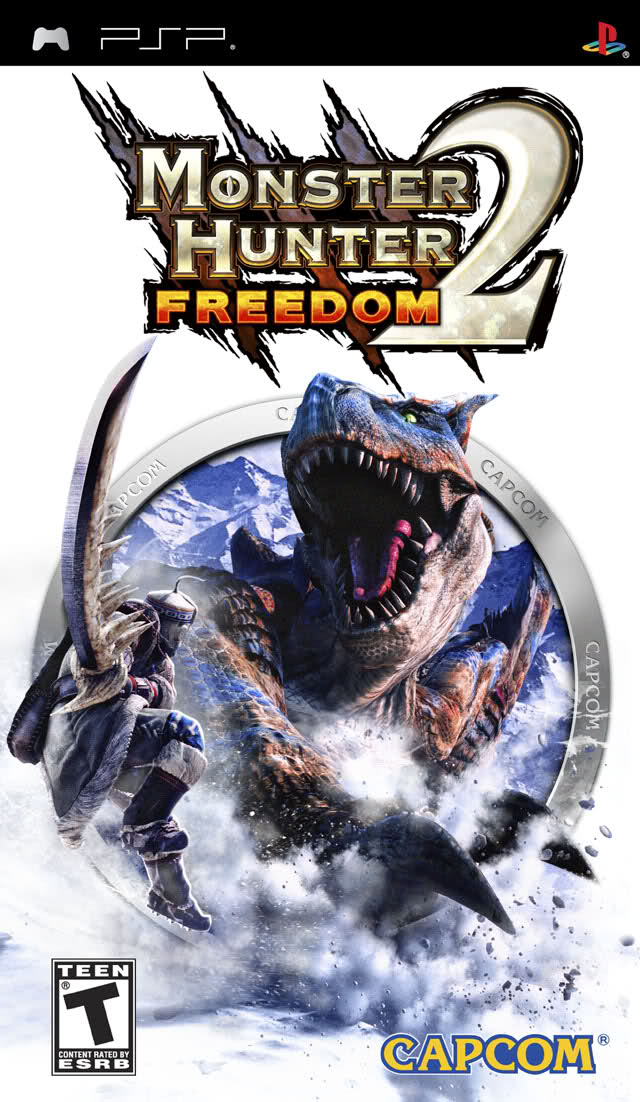 Monster Hunter Freedom 2 Review - PlayStation Portable Box Art