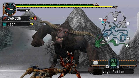 Monster Hunter Freedom 2 Review Screen 4