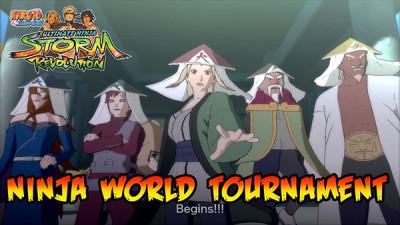 Naruto Shippuden Ultimate Ninja Storm Revolution - Ninja World Tournament Trailer