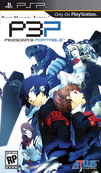 Persona 3 Portable Review - PlayStation Portable Box Art