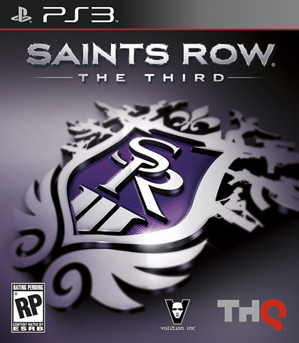 Saints Row The Third Review - PlayStation 3 Box Art