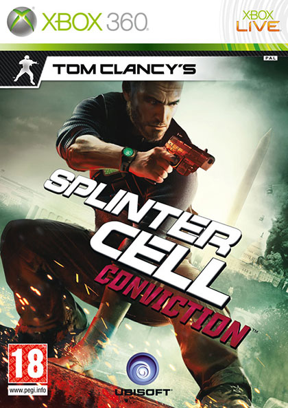 Splinter Cell Conviction Review - Xbox 360 Box Art